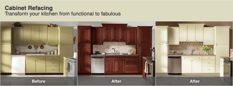 Reface Your Kitchen Cabinets At The Home Depot Refacing Kitchen