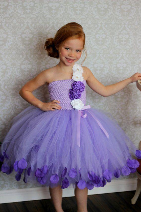31ff19d6fe5 Flower Girl Tutu Dress