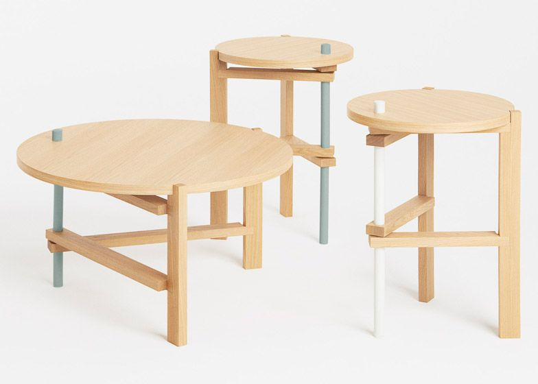 COS, Hay and Tomas Alonso team up to launch folding wooden tables