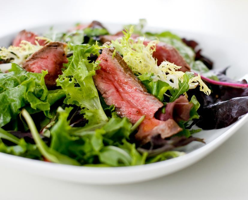 Brennan's Market - Steak Salad with Asparagus and Red Peppers