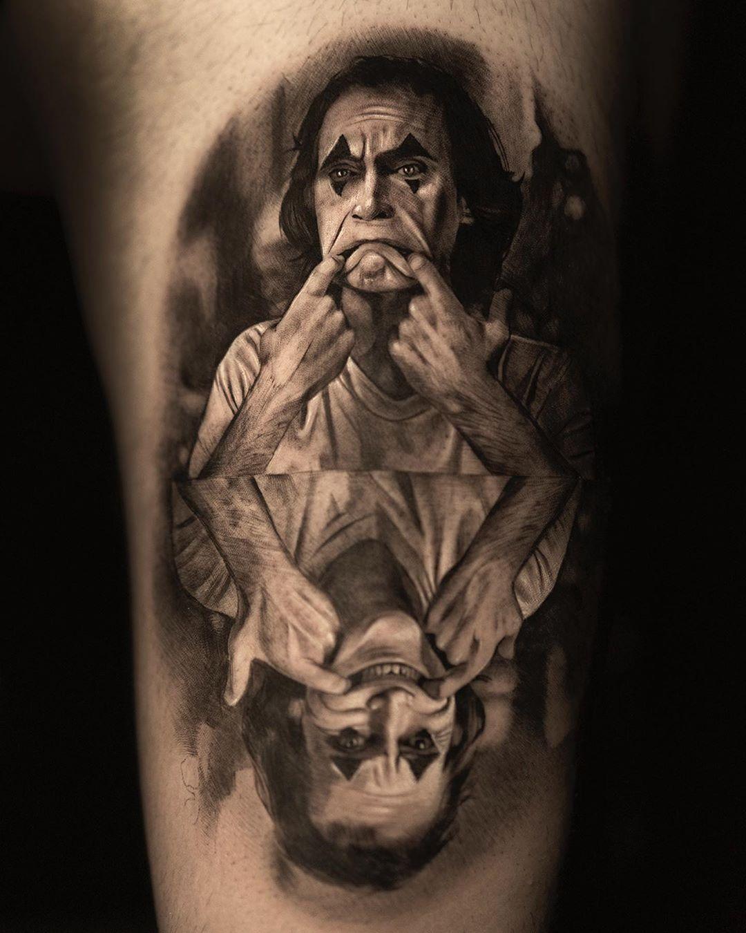 50 Verruckte Joker Tattoos Designs Und Ideen 3