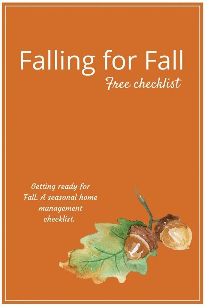 Photo of Fallen für den Herbst Herbst-Checkliste für zu Hause
