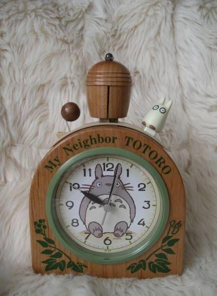 Totoro acorn alarm clock   Totoro, Anime crafts, Acorn