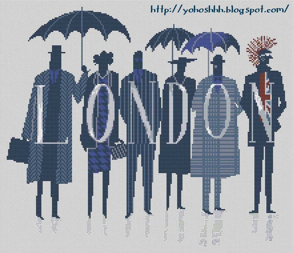 Крестики без ноликов.: London.