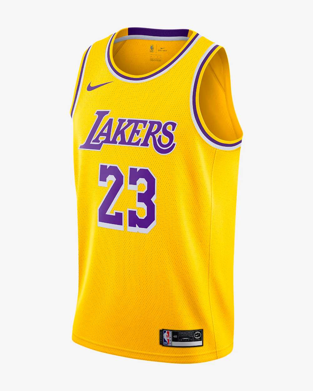 NBA Kobe Bryant Los Angeles Lakers Noir Throwback Swingman Jersey UK Vendeur