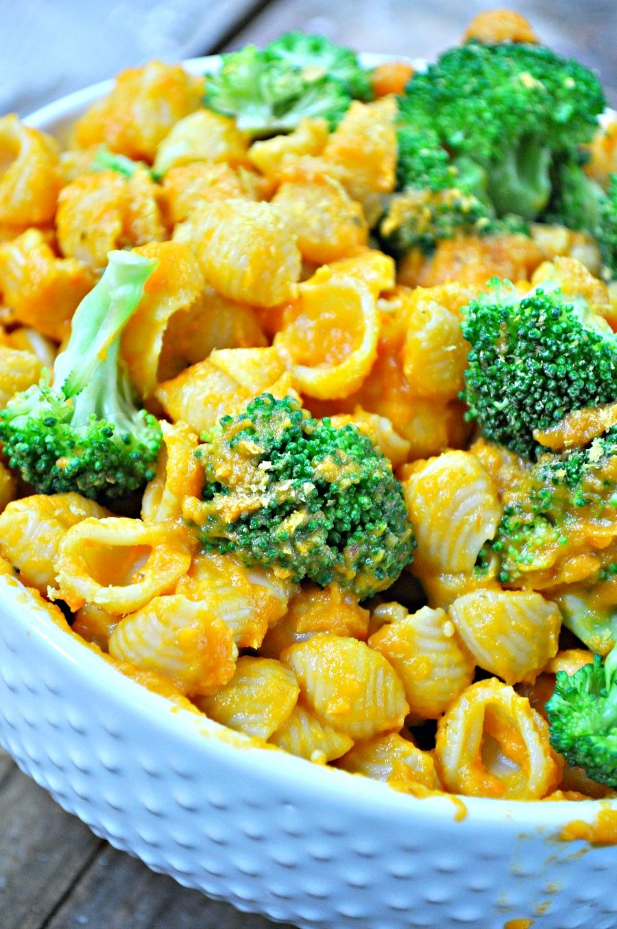 Vegan Broccoli And Cheese Shells