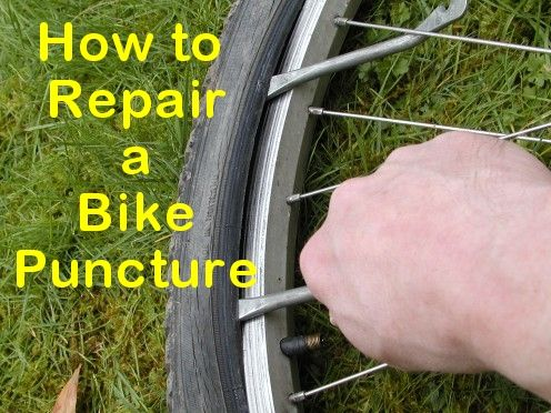Step By Step Pictorial Guide To Repairing A Mountain Bike Puncture