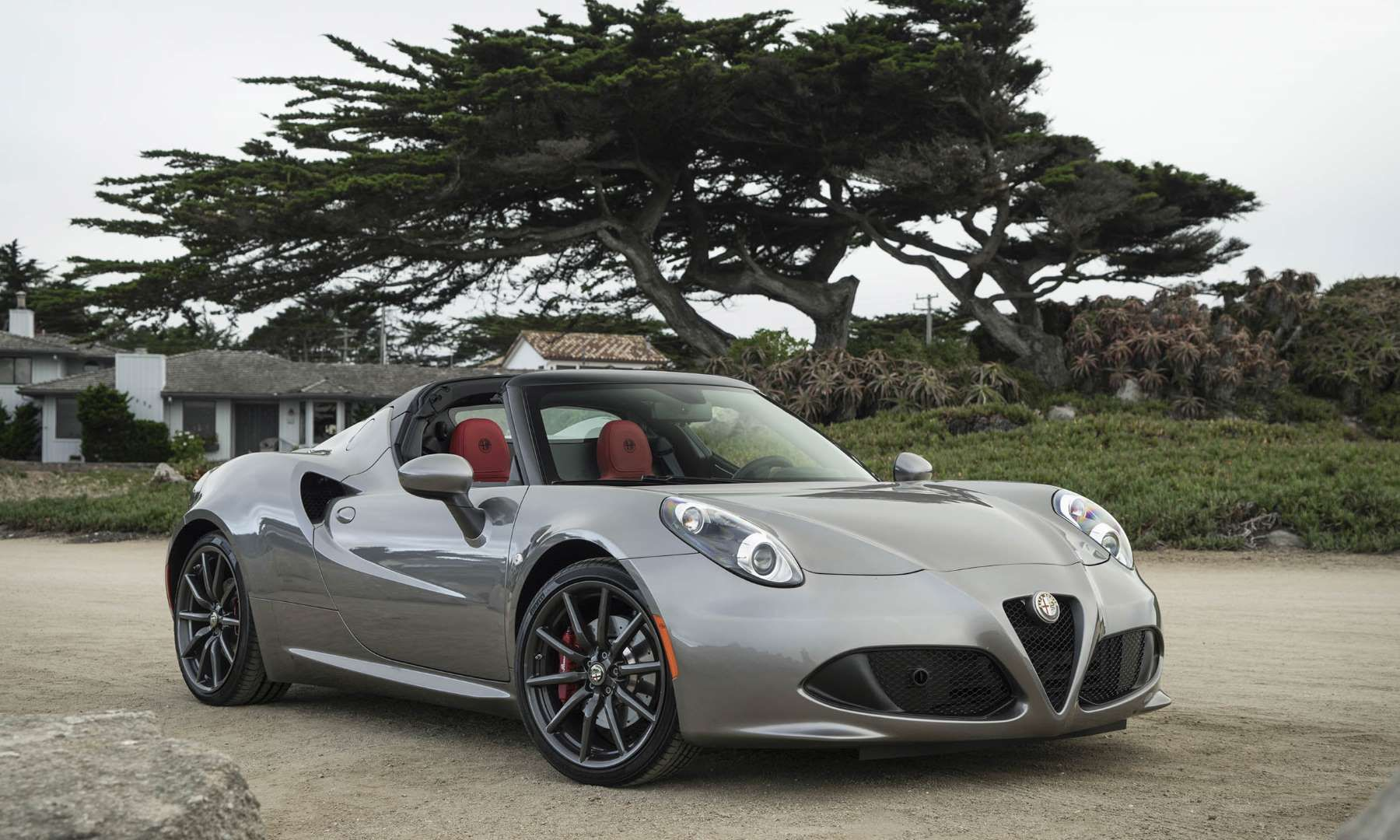 Msrp 65900this Is Not Your Fathers Alfa Spider The Very Modern Romeo 4c A 2 Seat Mid E Fca Us Llc