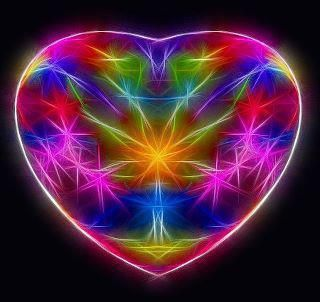 ELECTRIC HEART | PSYCHEDELIC ☮ | Pinterest | Rainbows, Color ...