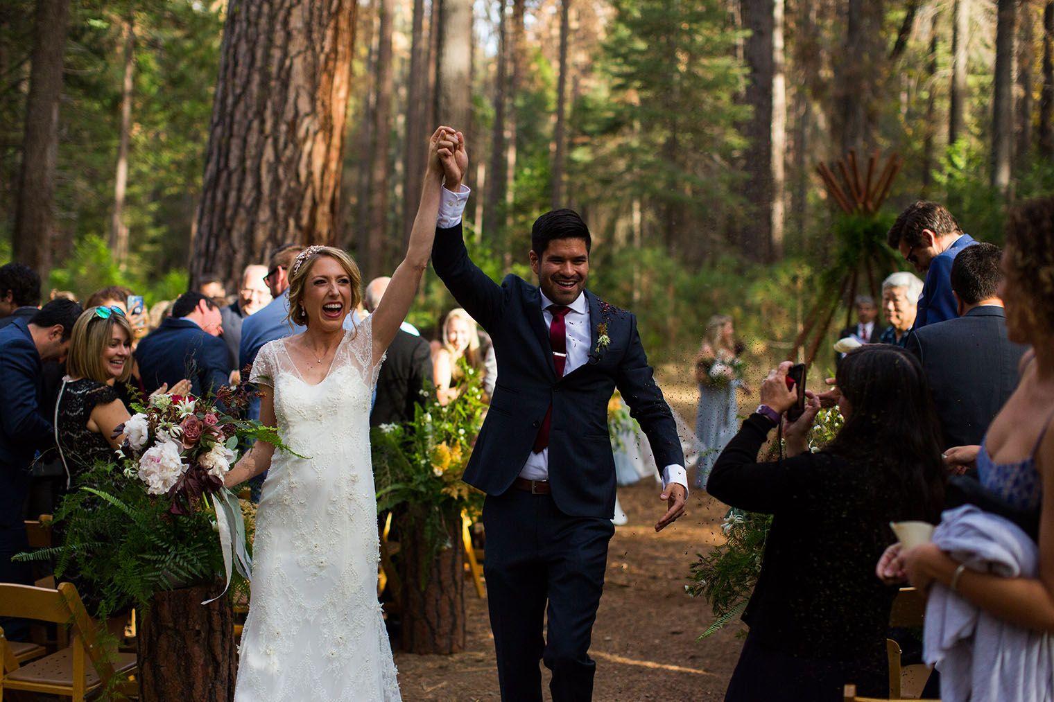 Evergreen Lodge Wedding in Yosemite National Park