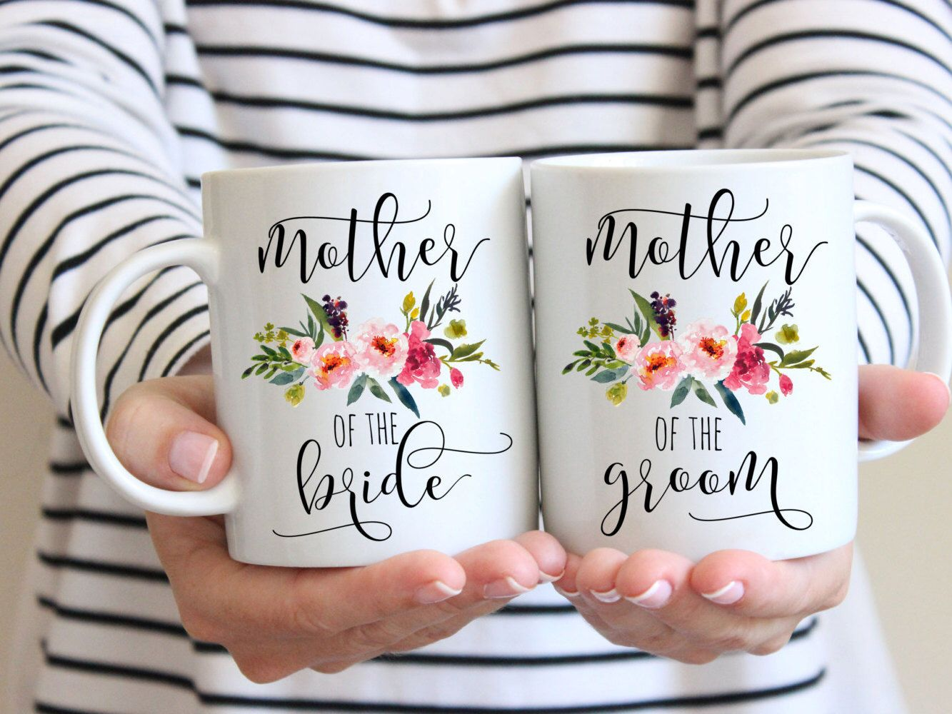 invitation wedding wording gifts%0A SALE Mother of the Bride Gift  Mother of the Groom Gift  Mug Set Gift