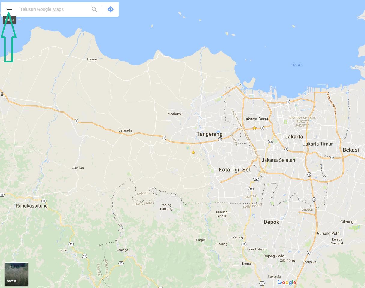 Cara Menambahkan Lokasi di Google Map Untuk