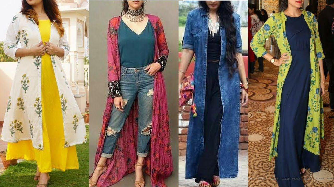 8 Trendy Shrug Designs For Modern Women Latest Designs Of 2020 Refashion Clothes Long Shrug Draping Fashion [ 720 x 1280 Pixel ]