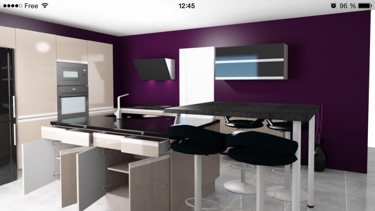 good cuisine star jet cuisinella notre maison amethyste gi ph par eseltegria sur with chaise. Black Bedroom Furniture Sets. Home Design Ideas