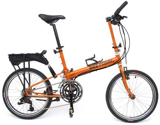 Pakit Folding Bike Bike Friday Bicycle Bike