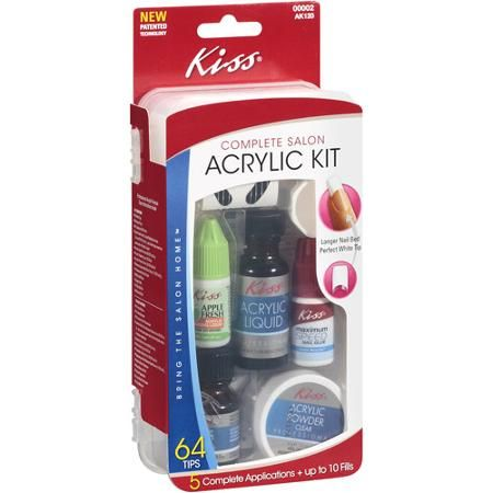 Kiss complete salon acrylic kit salon results walmart nails kiss complete salon acrylic kit salon results walmart solutioingenieria Image collections