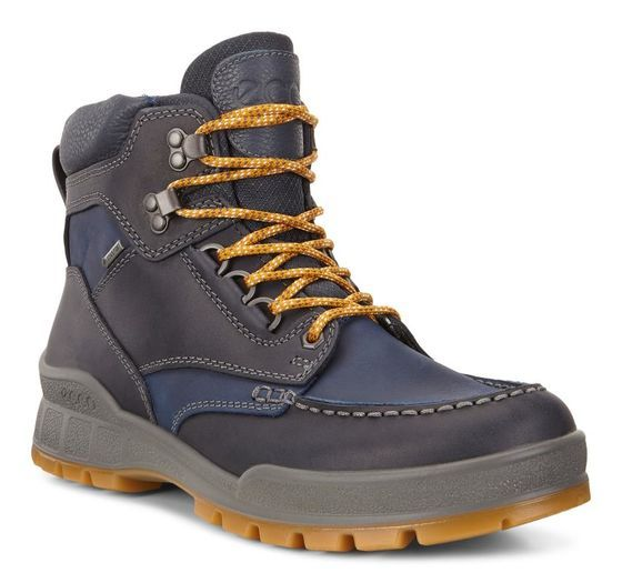 b5af8e85c6a ECCO Mens Track 25 High (NAVY/TRUE NAVY) | Capsule and techology ...