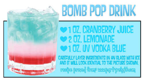 Looks So Good Bomb Pop Drink Pop Drink Yummy Drinks