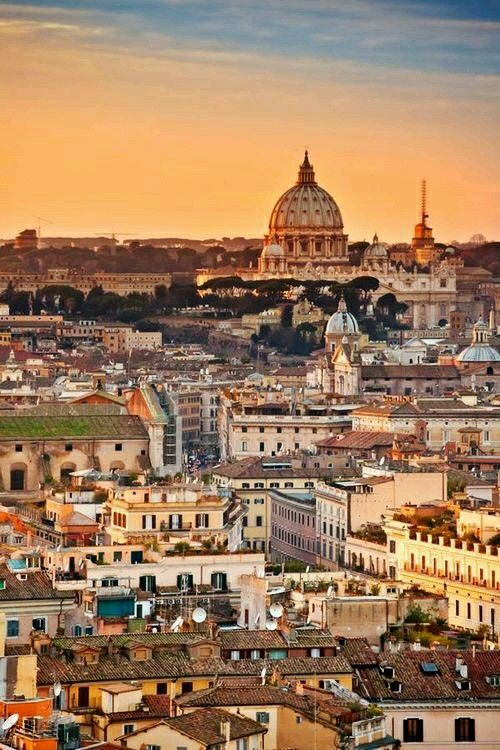 Vistas De San Pedro Roma Italia Con Immagini Luoghi