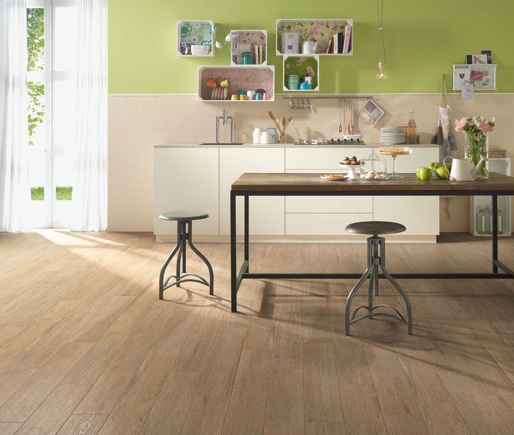 Disegno piastrelle effetto legno cucina : gres porcellanato smaltato effetto legno serie Planet MARAZZI ...