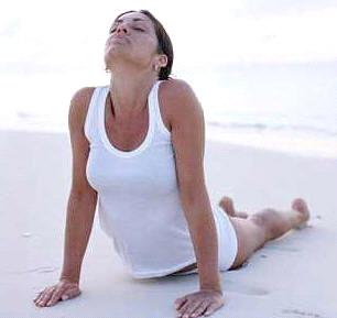 pinrosemary on health  cobra pose yoga yoga yoga