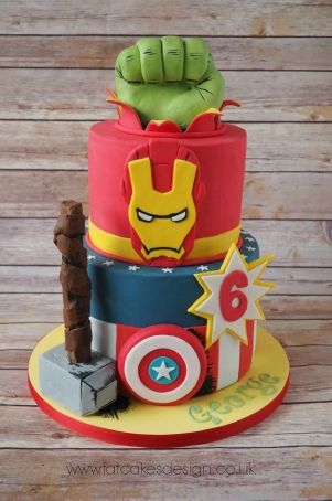 marvel superheroes cake - Visit to grab an amazing super hero shirt now on sale!
