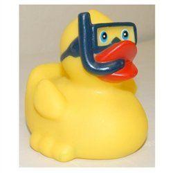 Snorkeler Rubber Duck