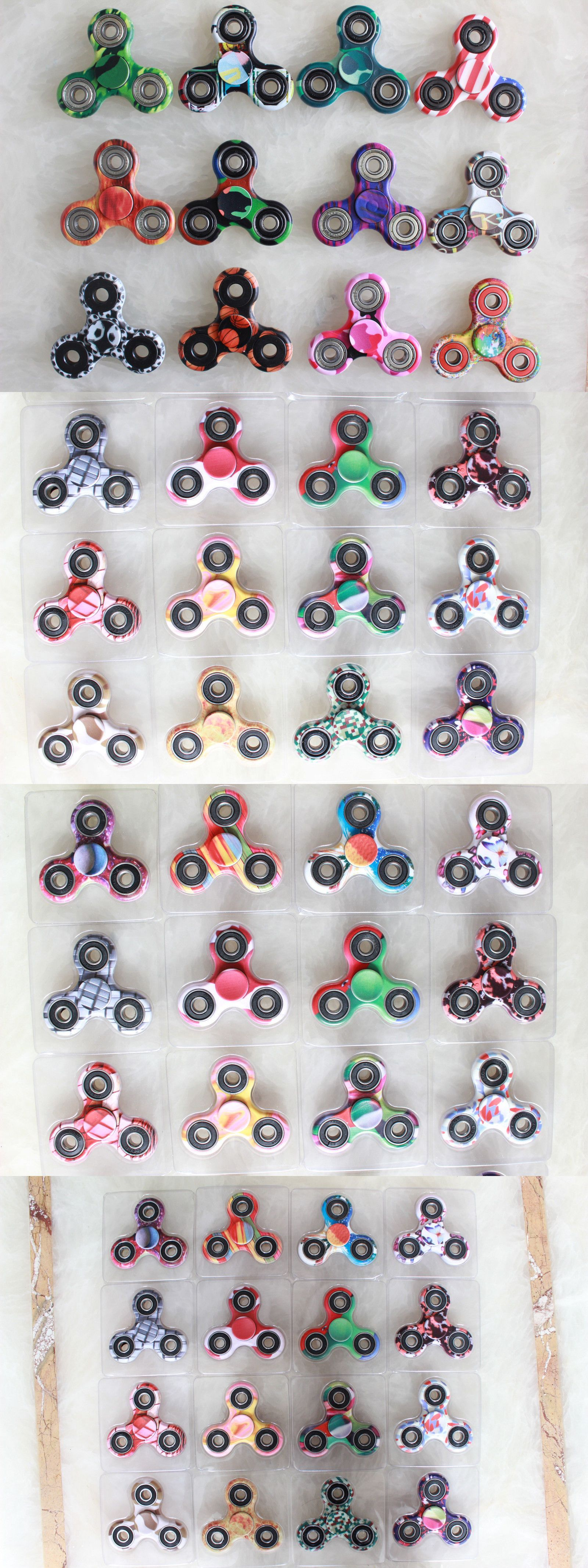 Other Games 234 Wholesale Lot 20X Fid Hand Tri Spinner Finger