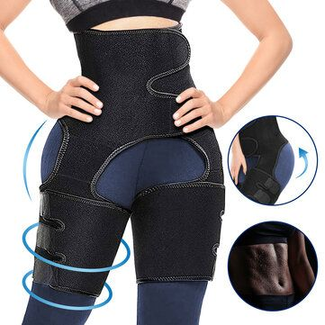 New 3-in-1 Adjustable Waist trimmer for Workout Fitness Waist Trainer for Women