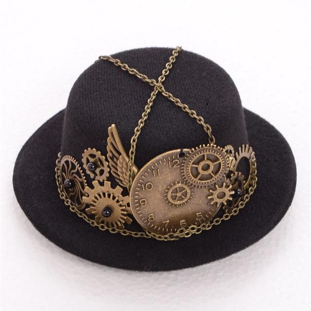 You Inspiration Hut Submit Your Inspiration: Steampunk Hat With Clockface -If Your Outfit Needs A