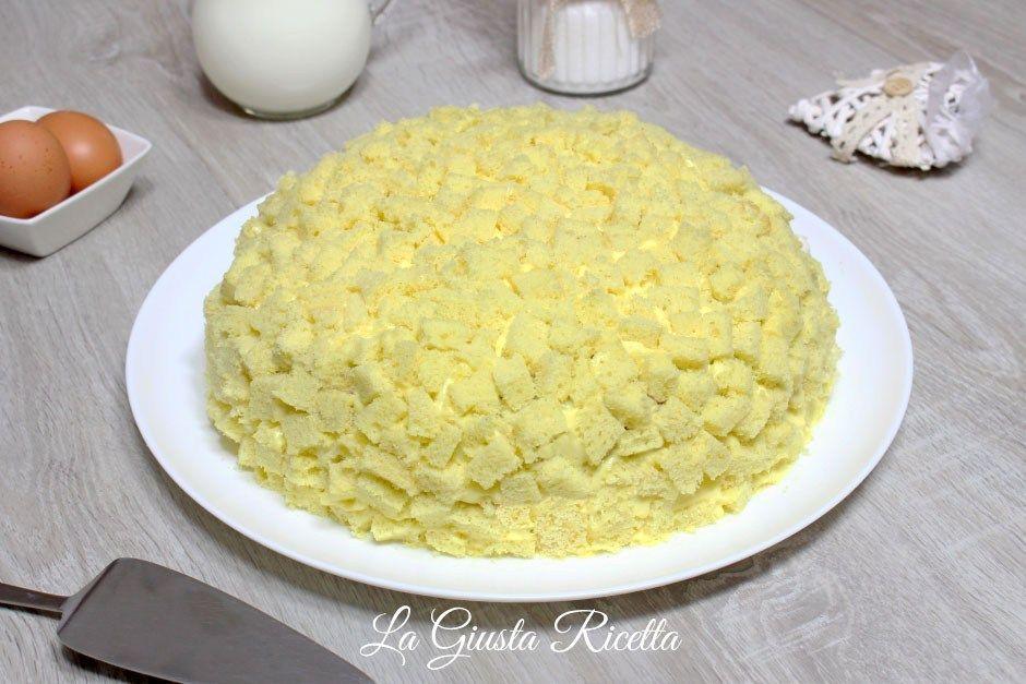 Torta mimosa - La Giusta Ricetta - Ricette semplici di cucinaLa Giusta Ricetta – Ricette semplici di cucina
