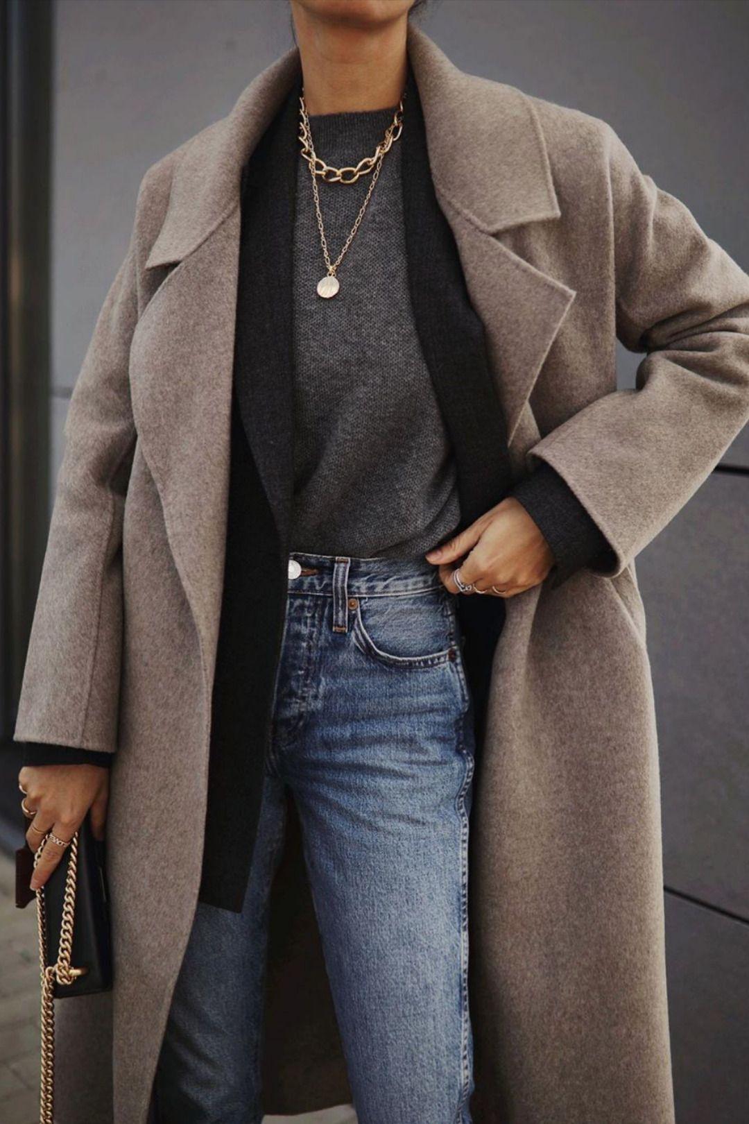 TENUES JEANS CLASSIQUES ET SIMPLES POUR L'HIVER – Idées de tenues   – Minimalistic outfits