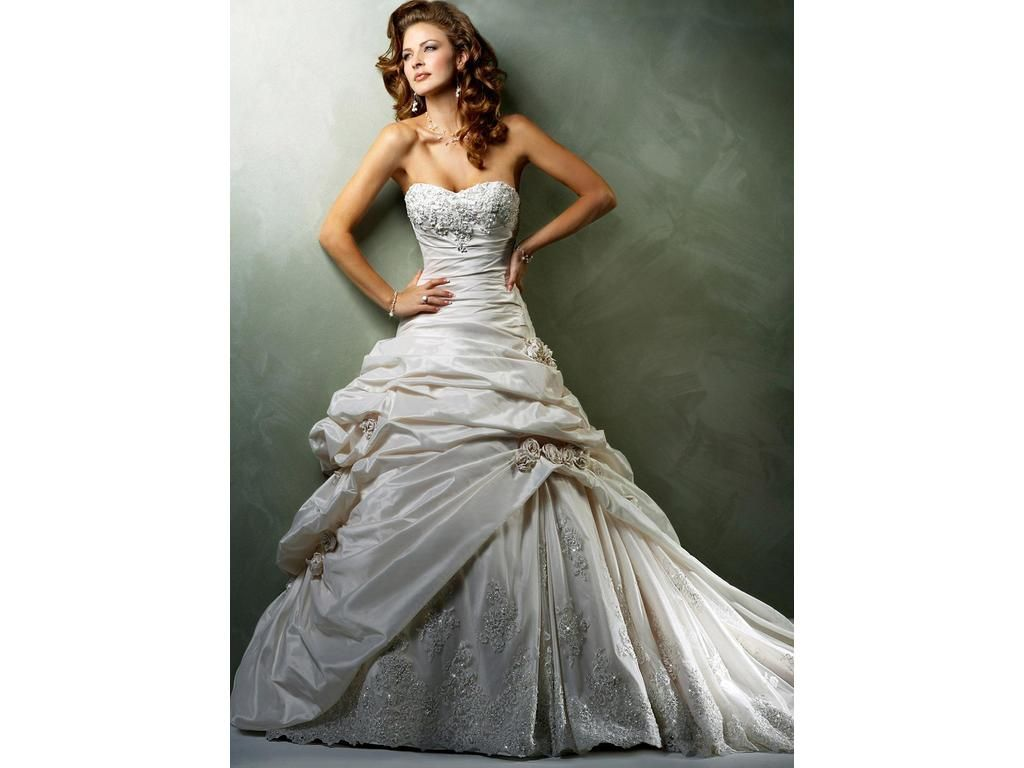 Pre owned wedding dresses  Maggie Sottero Sabelle  find it for sale on PreOwnedWeddingDresses