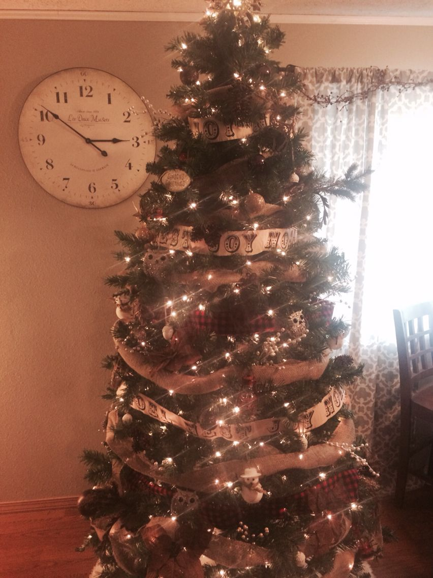Rustic Christmas Tree!