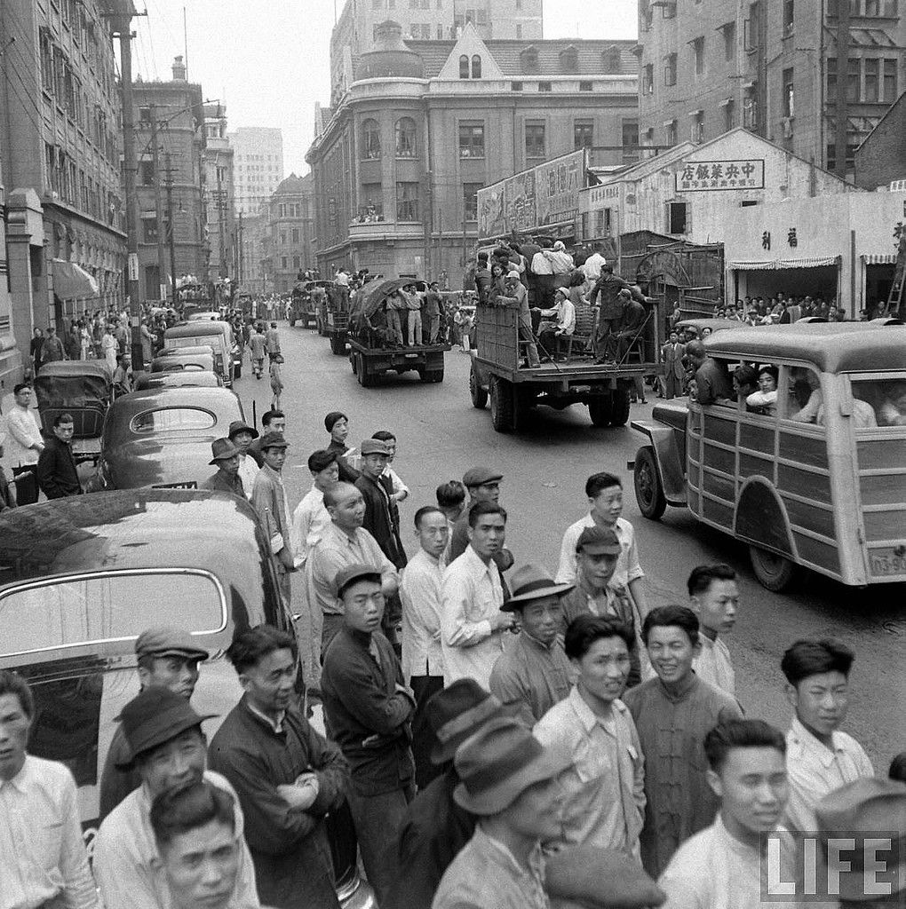 Last Days Of Shanghai Photos By Jack Birns Give Us A Sense Of