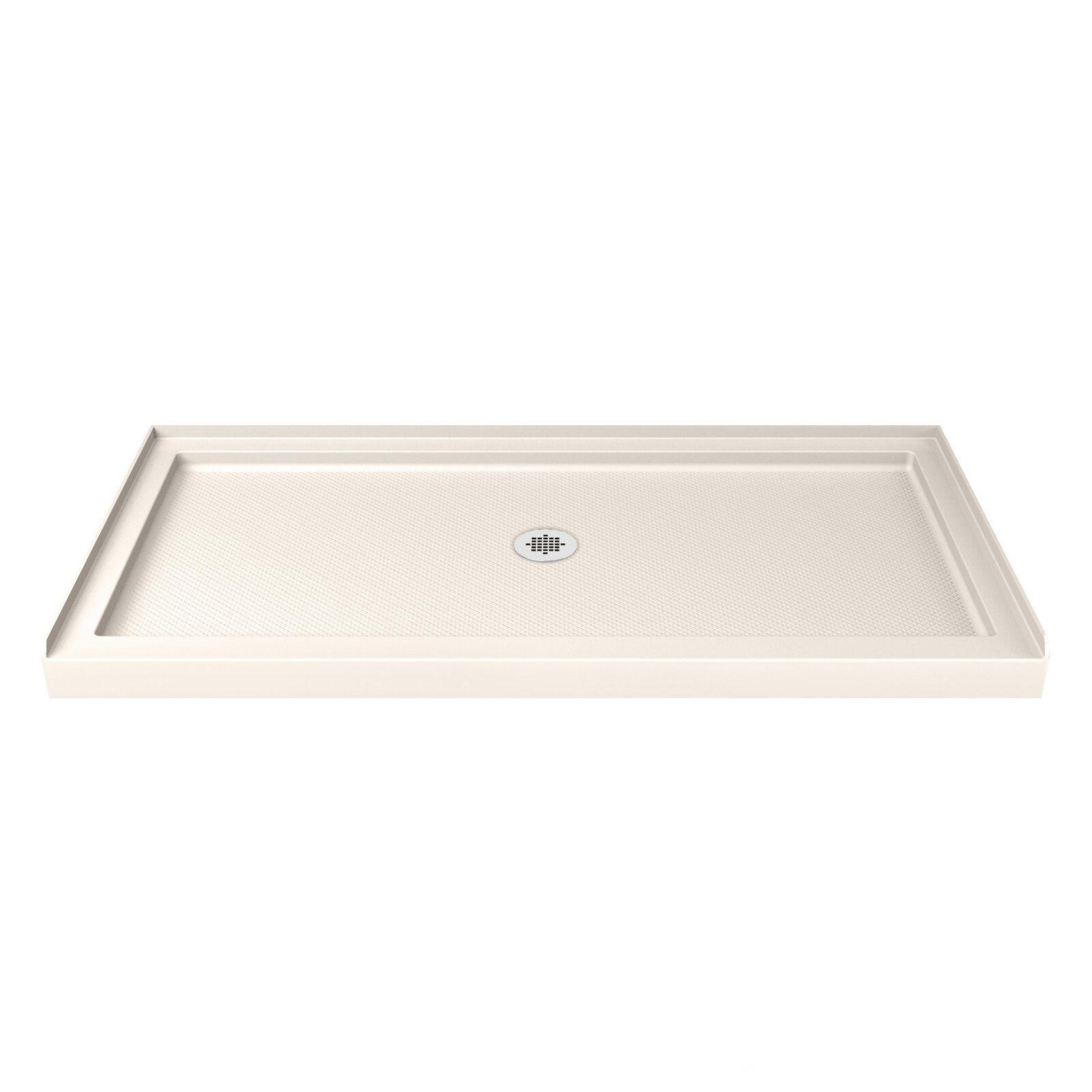 Slimline 60 X 34 Single Threshold Shower Base Tub To