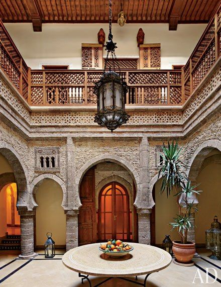 See How a Crumbling 18th-Century Home in Morocco Went from Shambles