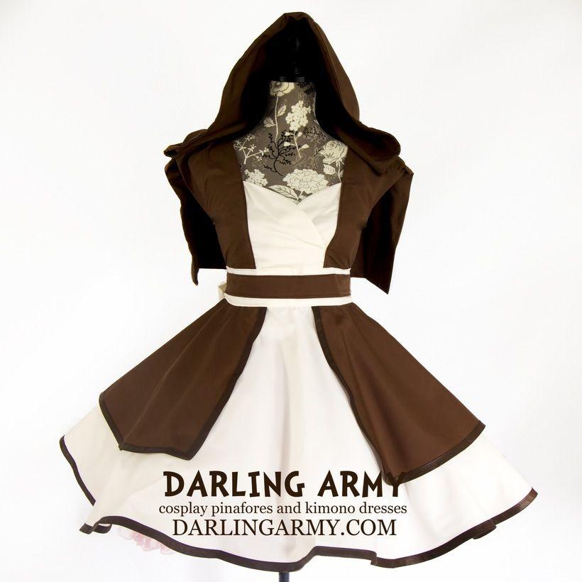 Obi-Wan Kenobi Jedi Cosplay Pinafore Dress Accessory Star Wars ...