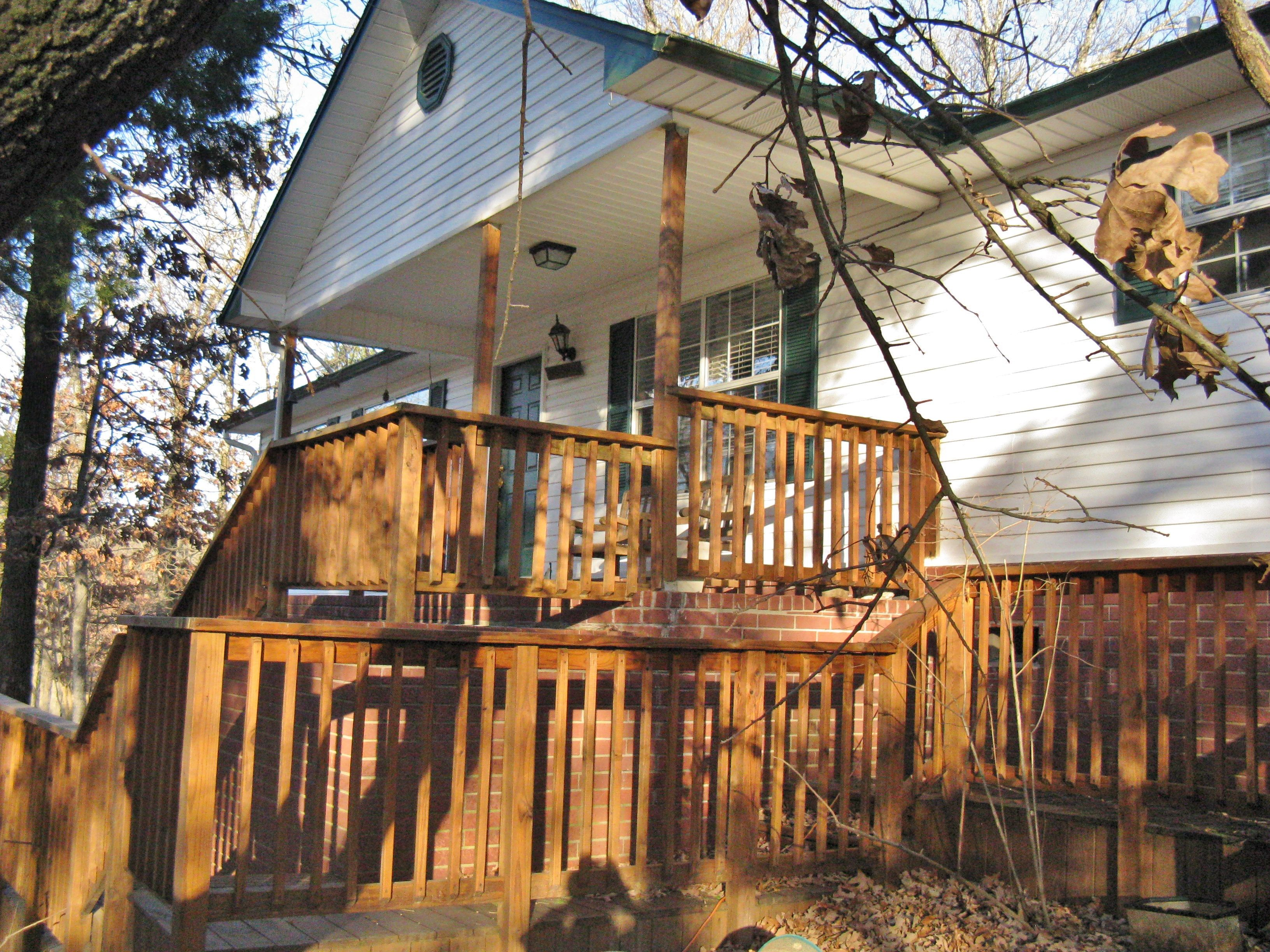 1931 Hwy 348 Rudy- $147,000 Your dream home in the country., but only 5 min to town.  You will love the view from every window in this lovely home sitting on 1 acre with 2 wonderful decks among the trees. Click here to view the virtual tour: http://instatour.propertypanorama.com/instaview/fts/705748 Call Ramona Roberts Realtors or visit our website www.ramonaroberts.com for more information, photos, and directions.