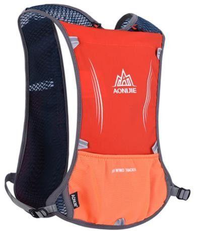 2017 AONIJIE Men Women Lightweight Marathon Running Bag Riding Hydration Backpack Sport Bag