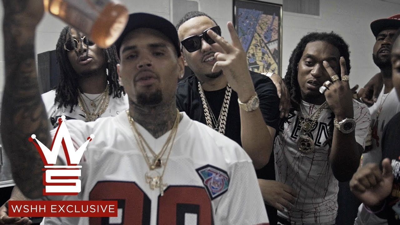 French Montana Hold Up Feat Chris Brown Migos Wshh Exclusive