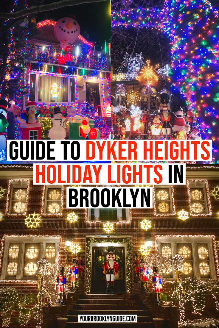 Pin By Yourbrooklynguide On Take Me Around The World In 2020 Nyc Holidays Nyc Christmas Christmas Lights