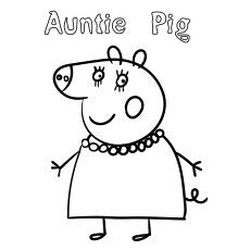 top 35 peppa pig coloring pages for your little ones with