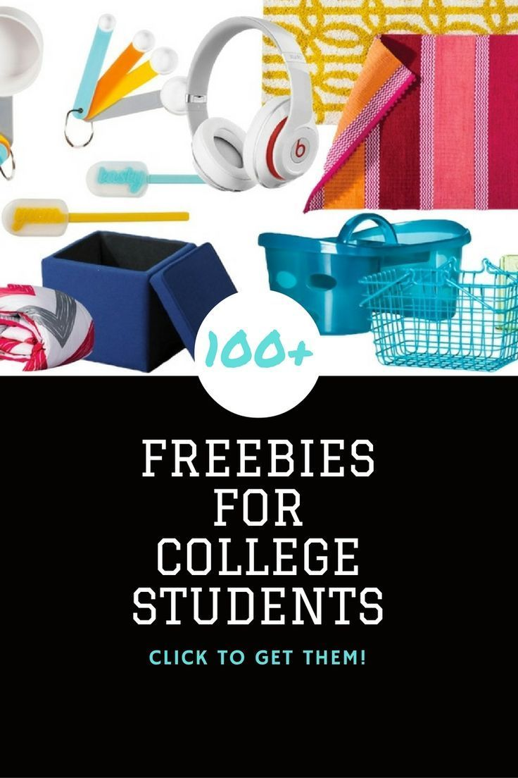 100+ Freebies for College Students, this is an awesome list