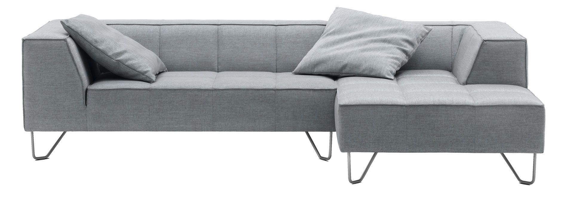 Milos Sofa By Bo Concept In Gray Sazza Fabric
