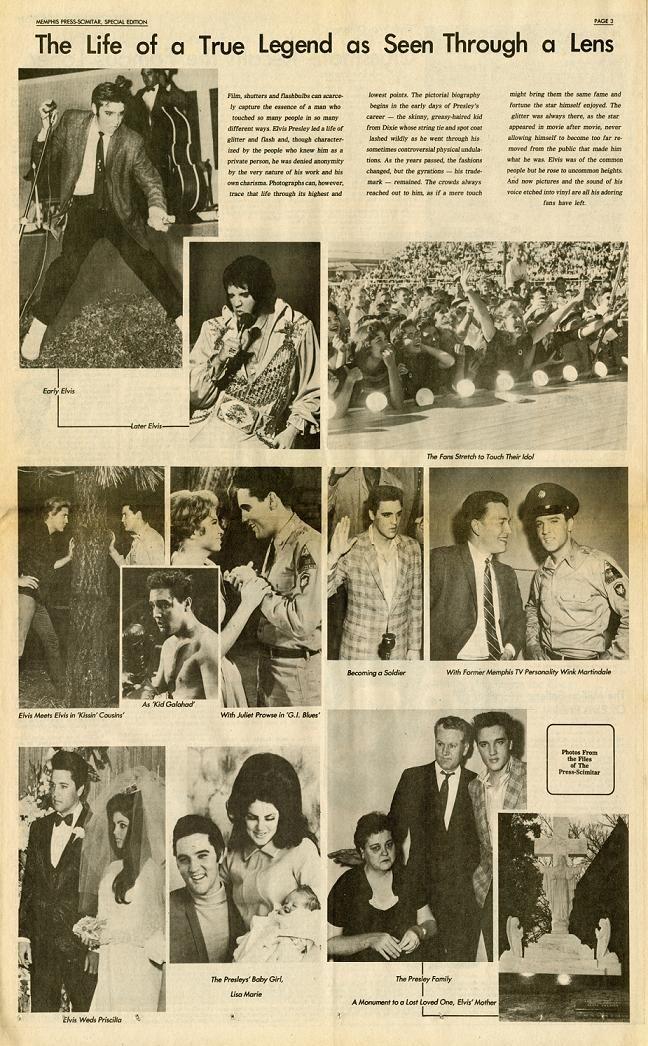 Aug. 16, 1977: Music superstar Elvis Presley died in ...