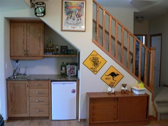 Beautiful Design Of Storage Under Stairs; Maximize Your Unused Space With  Function : Small Kitchen Under Stairs Storage Ideas