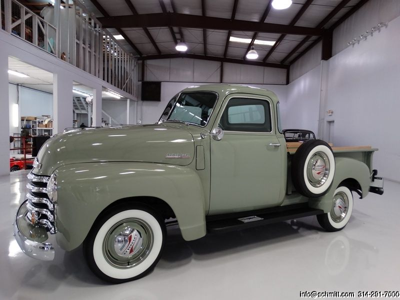 DANIEL SCHMITT & CO CLASSIC CAR GALLERY PRESENTS: 1947 CHEVROLET 3100 DELUXE CAB…