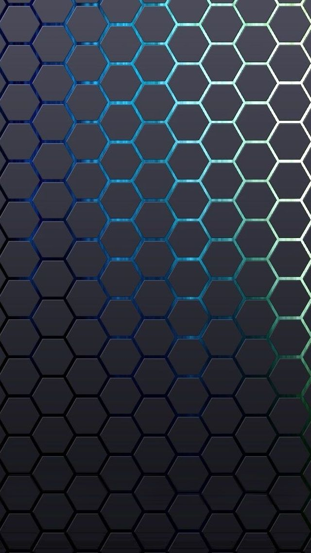 Check Out This Wallpaper For Your Iphone Http Zedge Net W10177208 Src Ios V 2 5 Via Zedge Live Wallpapers Iphone Wallpaper Black Phone Wallpaper Blue and black hexagon wallpaper