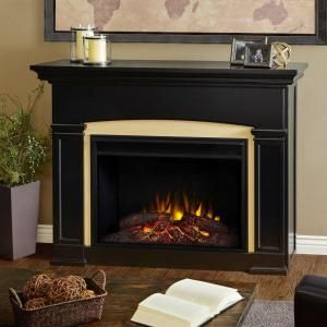 Cambridge Sanoma 72 In Electric Fireplace In Gray With Built In